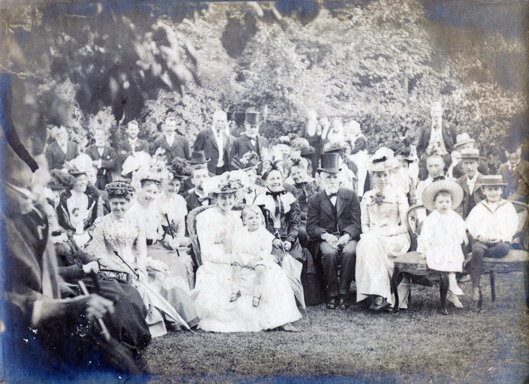 Prof. Fred Enock Garden Party - Tufnell Park Road, London, c1900